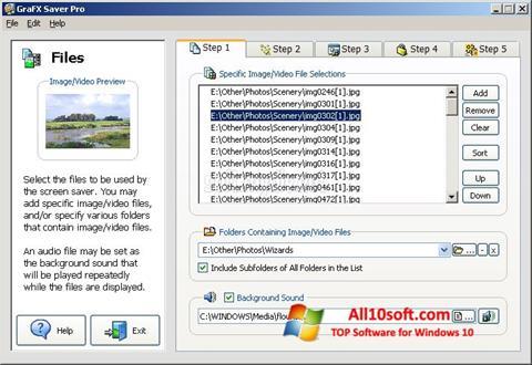 Screenshot VideoSaver Windows 10