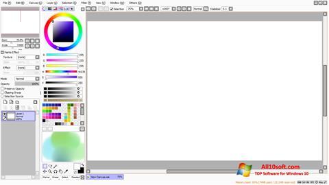 Screenshot Paint Tool SAI Windows 10