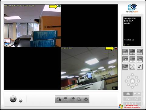 Screenshot D-ViewCam Windows 10