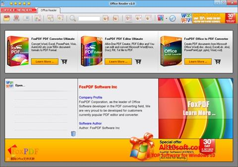 Screenshot VSD Viewer Windows 10