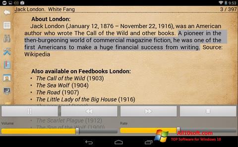 Screenshot Cool Reader Windows 10