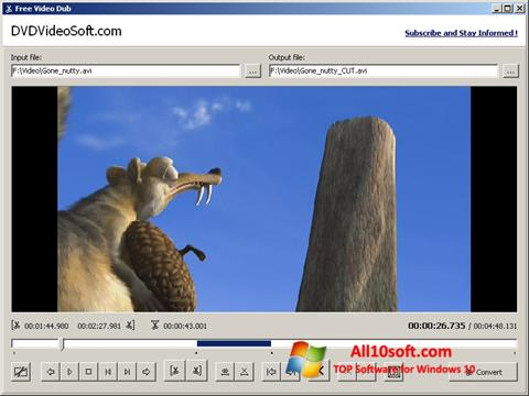 Screenshot Free Video Dub Windows 10