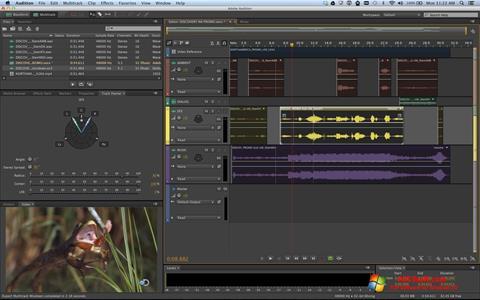Screenshot Adobe Audition Windows 10