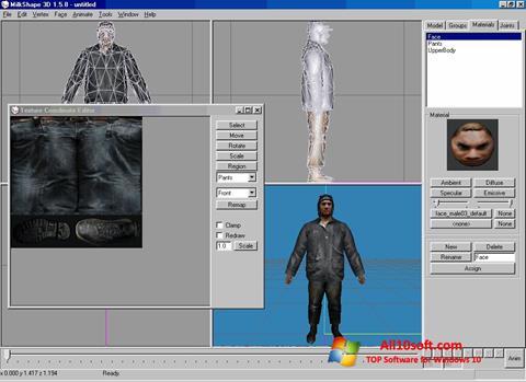 Screenshot MilkShape 3D Windows 10