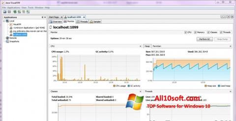 Screenshot Java Virtual Machine Windows 10