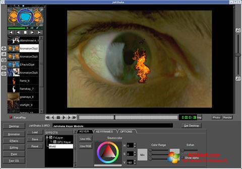 Screenshot JahShaka Windows 10