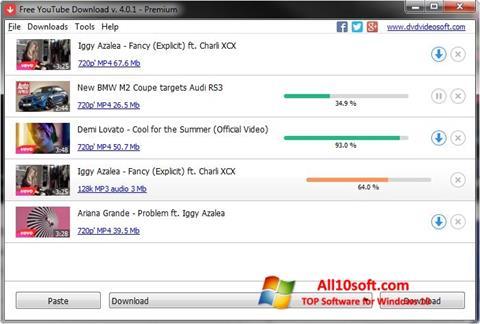 Screenshot Free YouTube Download Windows 10