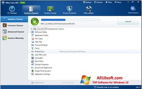 Screenshot Wise Care 365 Windows 10