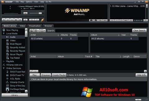 Screenshot Winamp Pro Windows 10