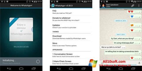 Screenshot WhatsApp Plus Windows 10