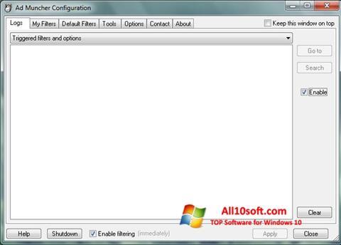 Screenshot Ad Muncher Windows 10
