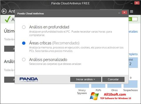 Screenshot Panda Cloud Windows 10